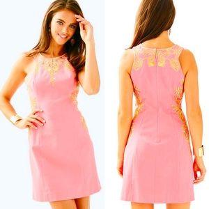 NWT Lilly Pulitzer Tina Shift Dress Size 00